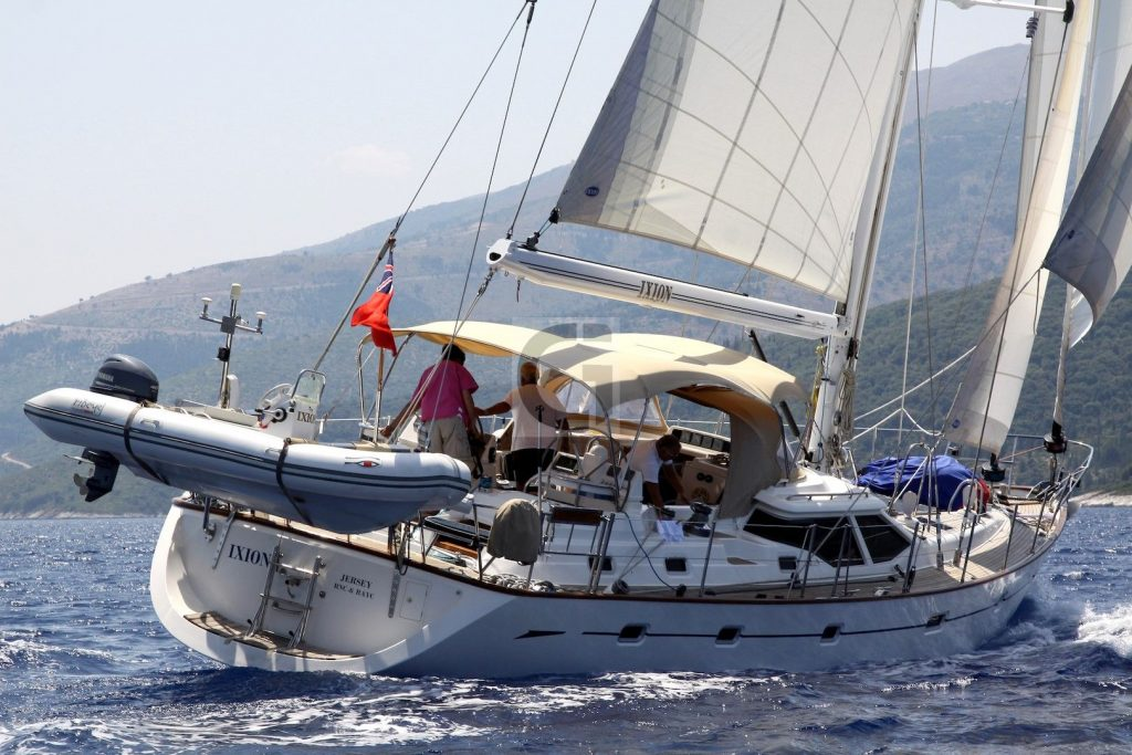 2002 Oyster 62 'IXION' for sale 001