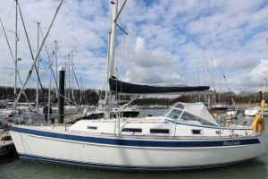 2006 Hallberg Rassy 342 'BLUE LADY' for sale 001
