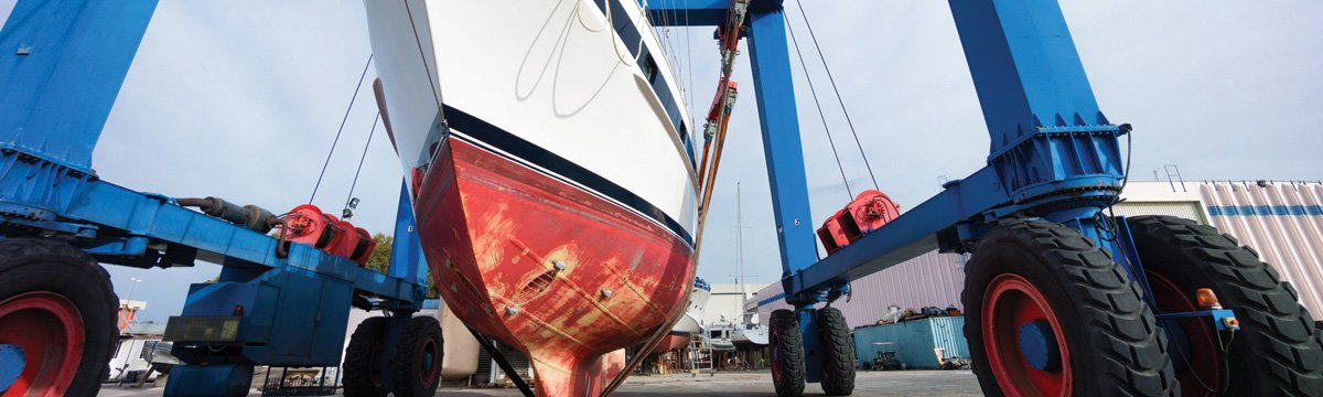 Grabau International can assist with finding the right boatyard to carry out your service requirements