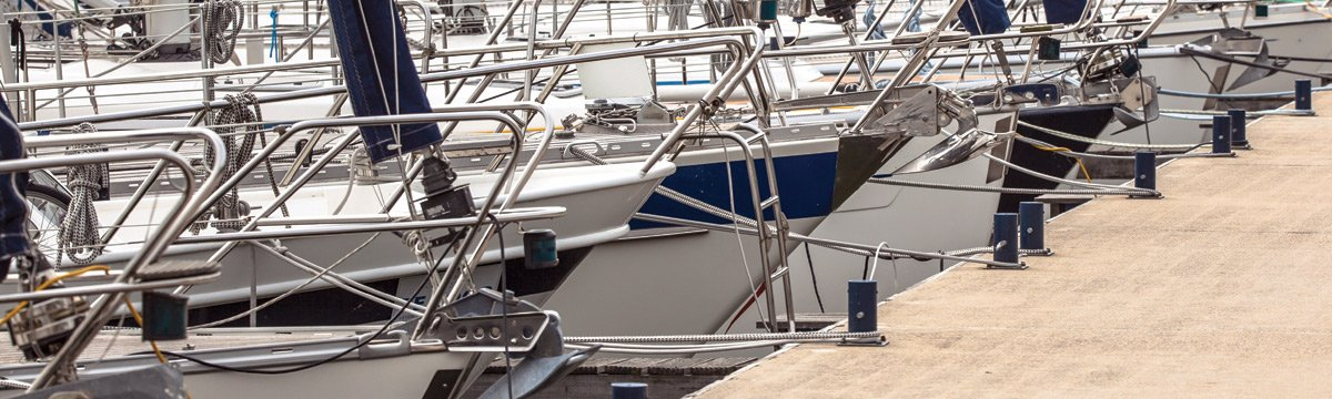 Grabau International can assist with finding a suitable marina berth for your new yacht