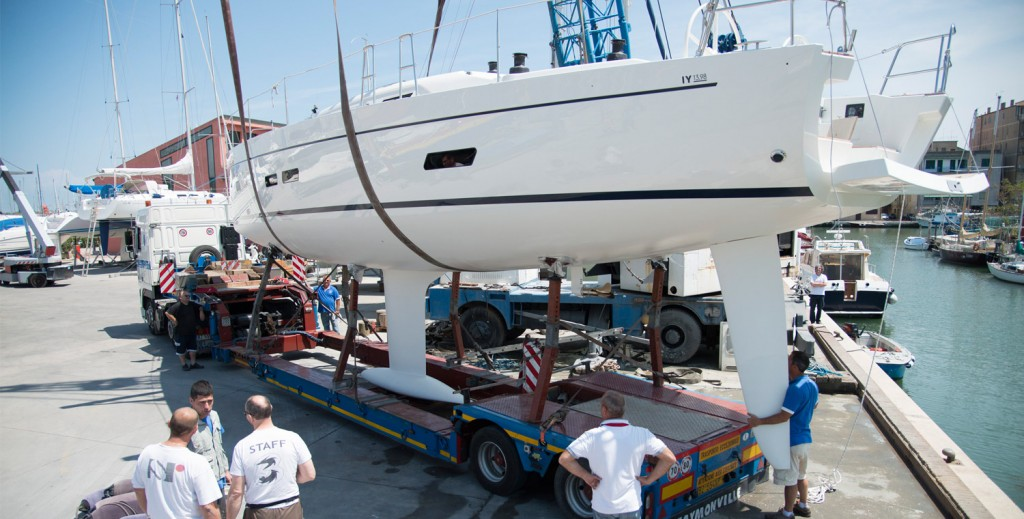 Grabau International can assist with arranging yacht transport, delivery or shipping