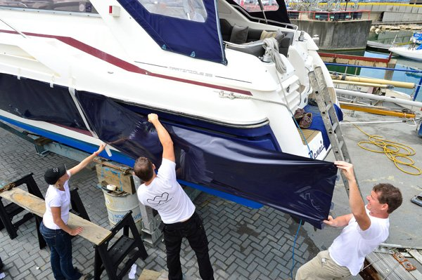 Choosing A Blue Water Yacht Hull Construction Grabau