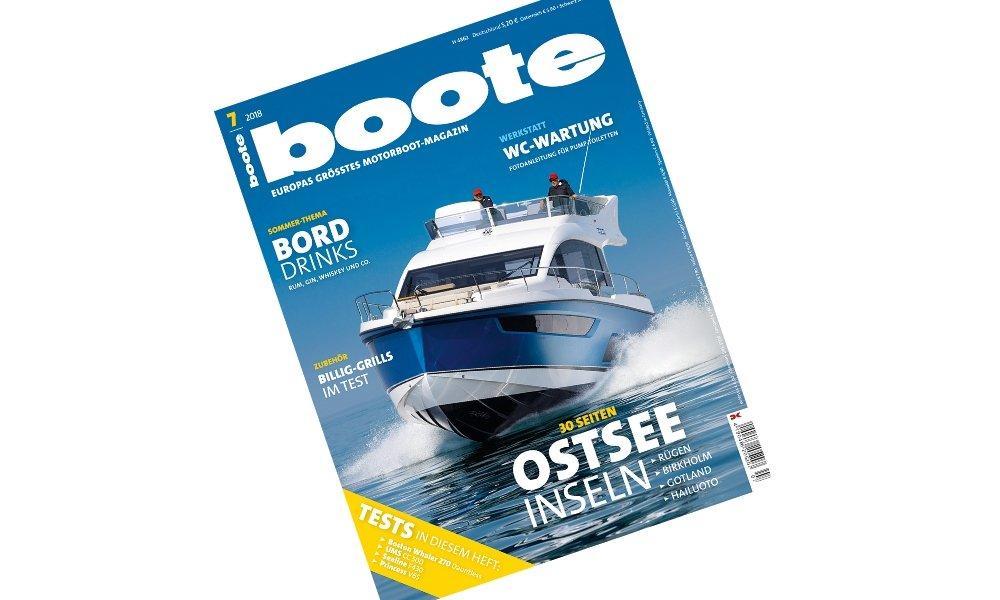 Boote Magazin - July 2018