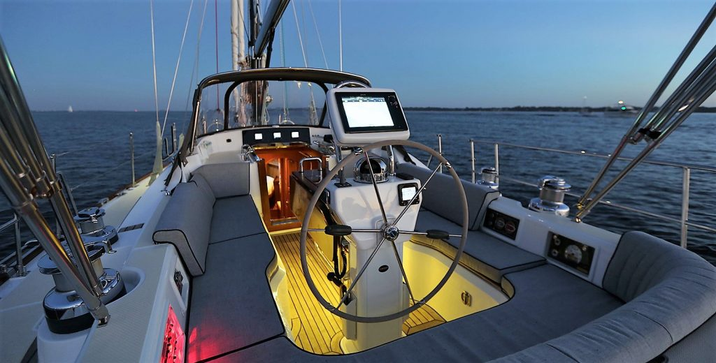 Hylas 56 cockpit