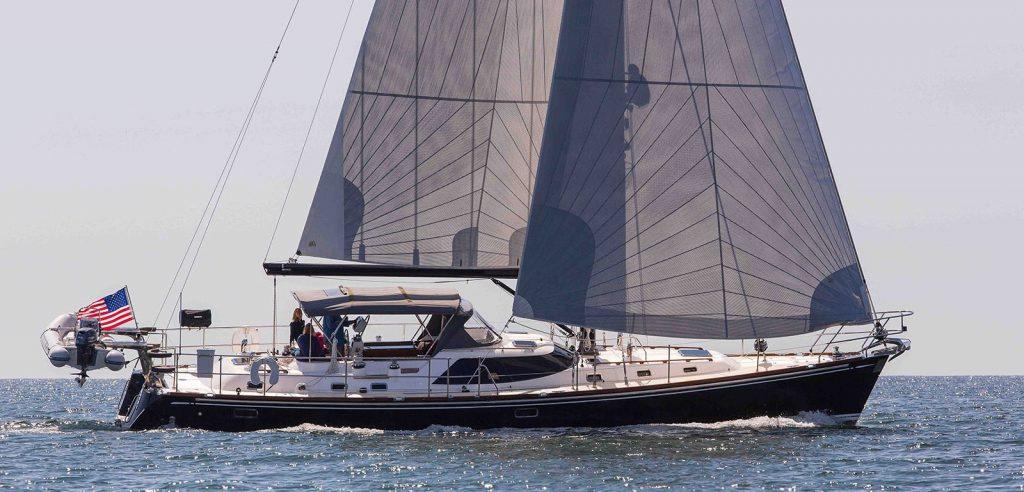 Hylas 56 under sail
