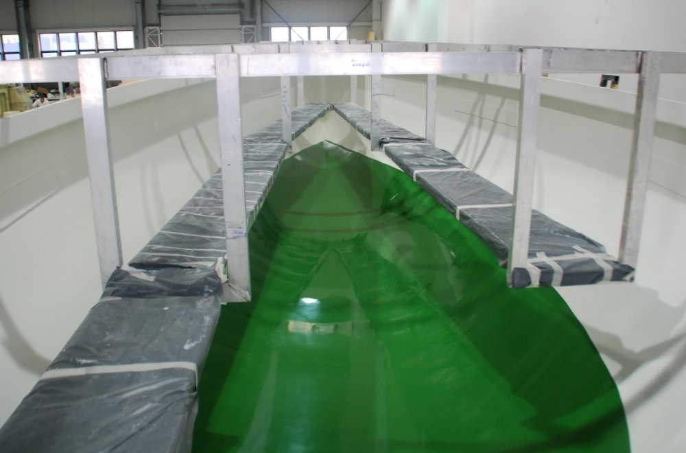 More Boats 55 hull mould