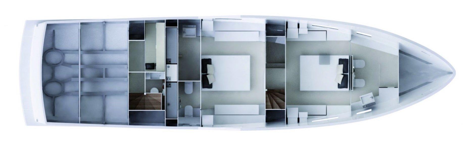 Vismara MY56 Navetta Interior Layouts