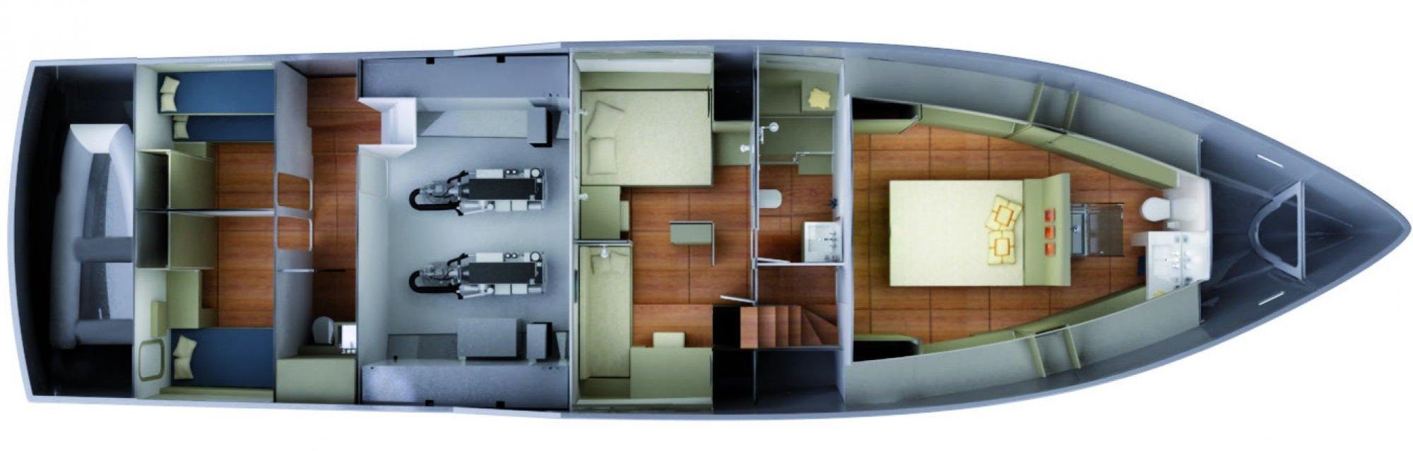 Vismara MY68 Navetta Interior Layouts