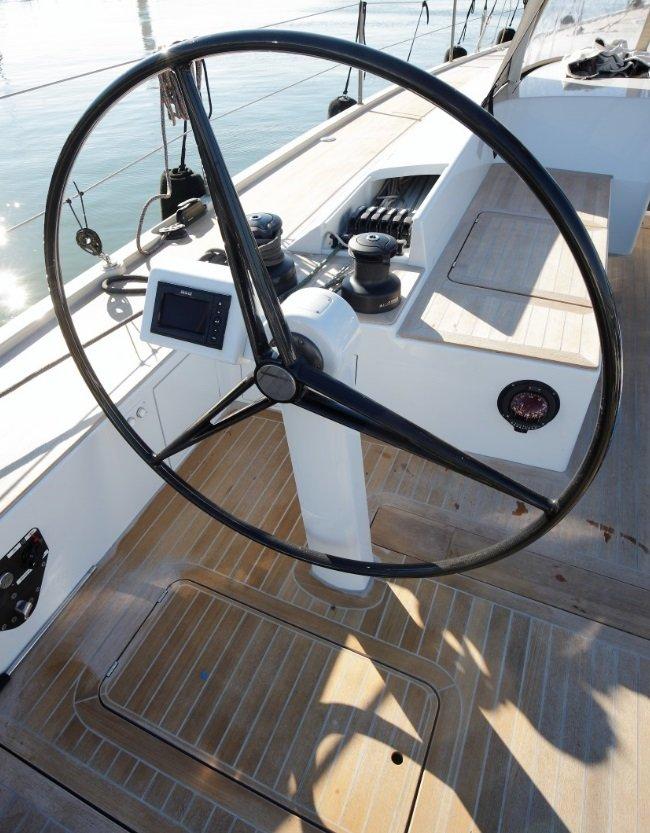 Vismara V50 Mills helm position