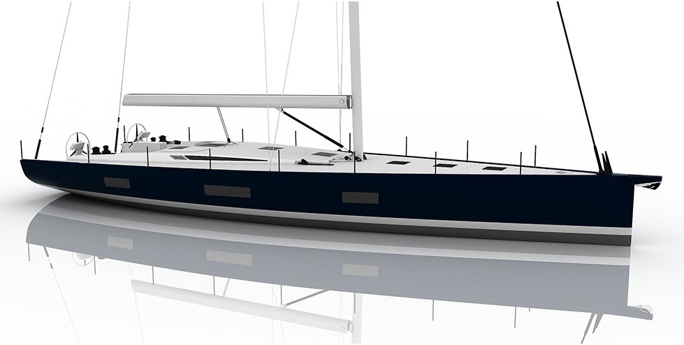 Vismara V62 Mills Blue Navy blue Hull Colour