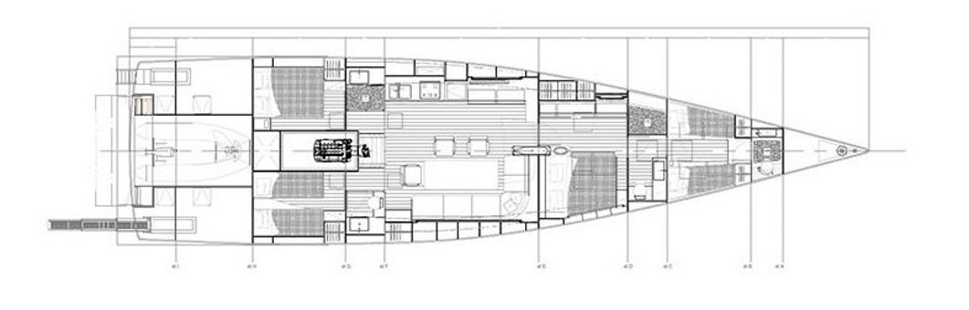 Vismara V67 Mills interior layout
