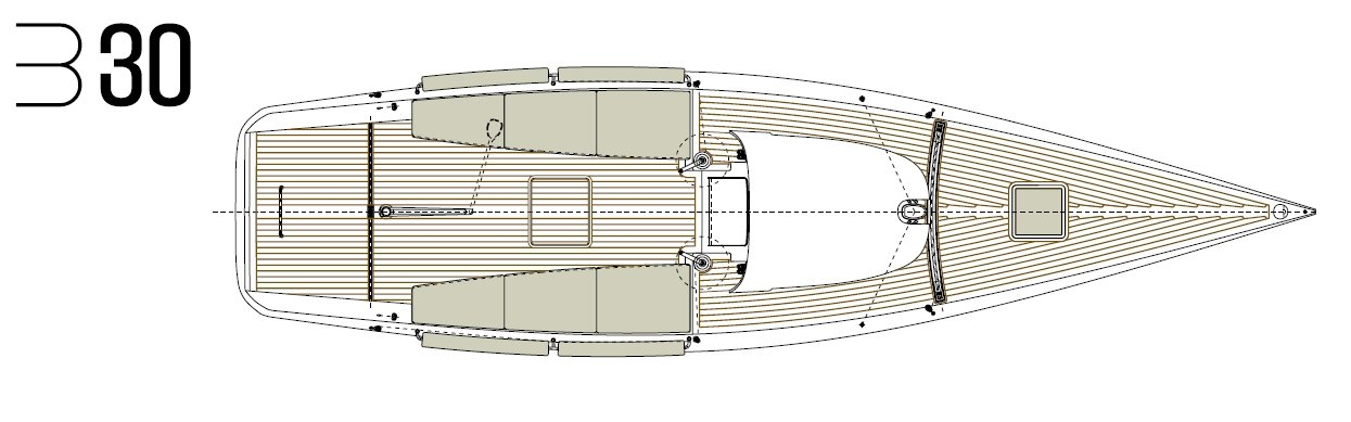 Luca Brenta B30 deck layout