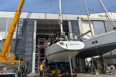 Baltic Yachts Refits at Vismara Marine