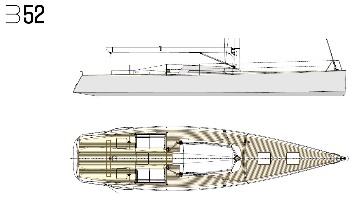 Luca Brenta B52 deck layout