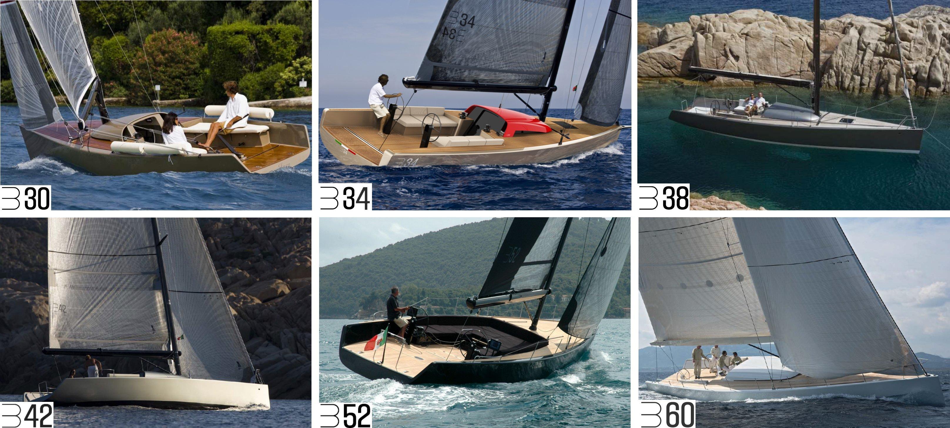Luca Brenta Yachts range