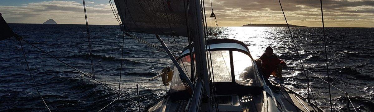 """Sailing in Scotland"