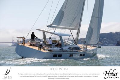 Hylas H57 - First Sailing Photos