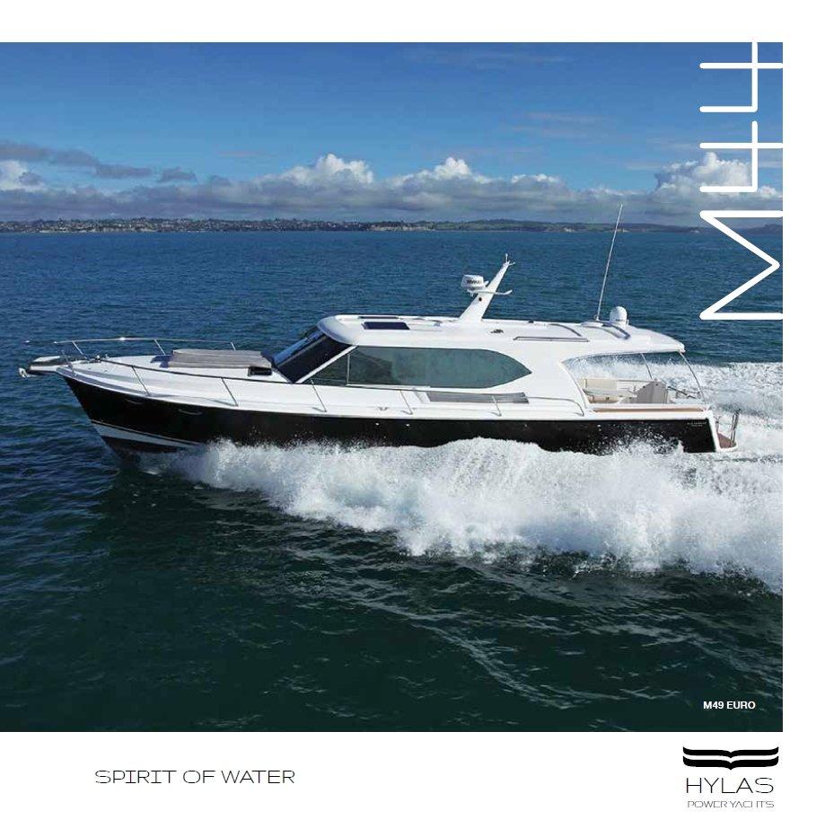 Hylas Yachts M44 & M49 Brochure