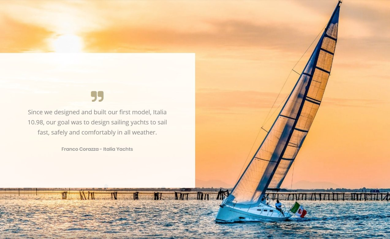 Italia Yachts Design
