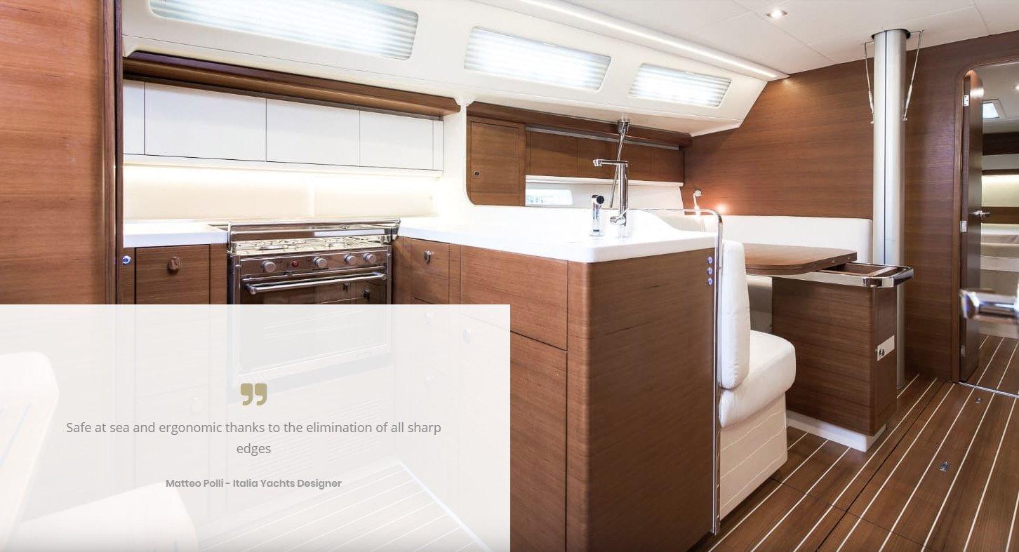 Italia Yachts Quality