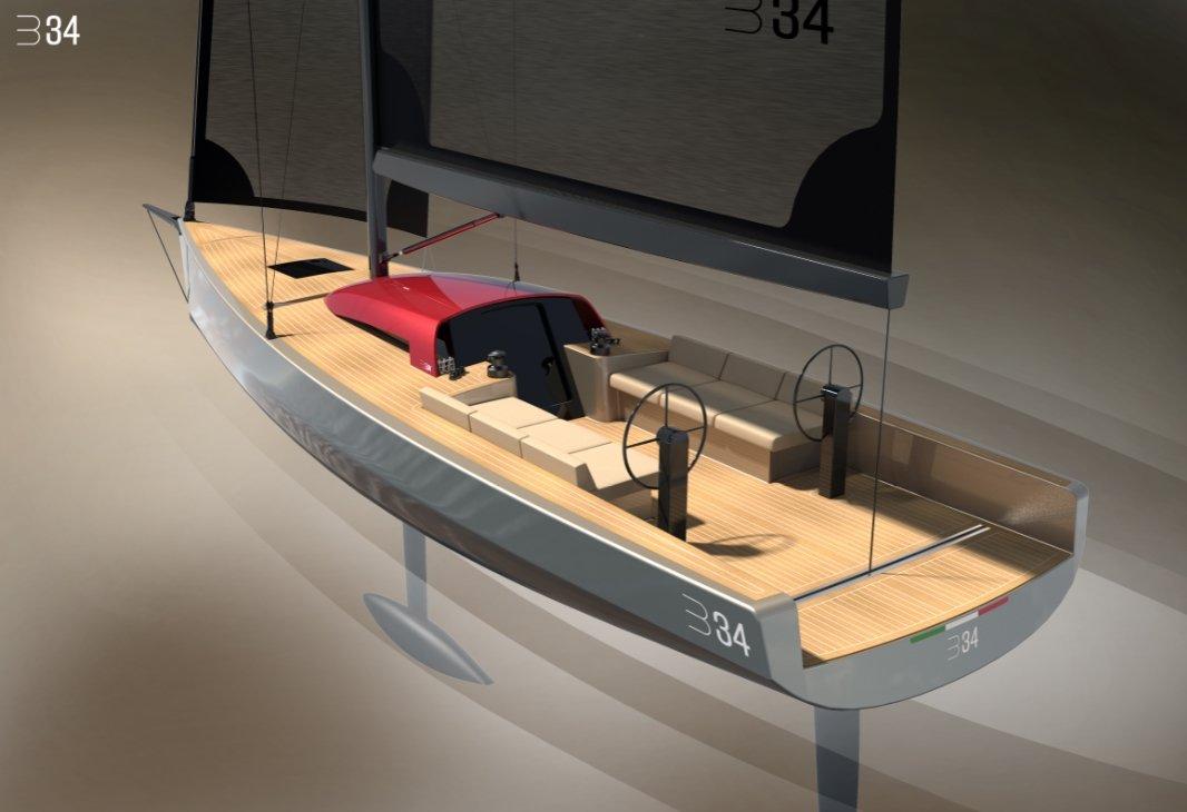 Luca Brenta Yachts design