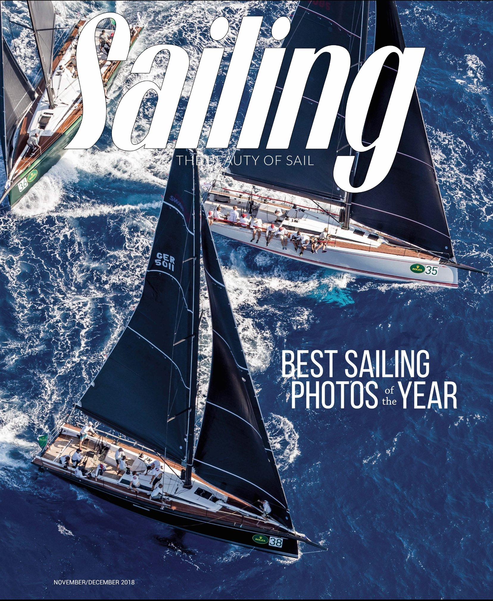 Sailing Magazine - November/December 2018 Perry Design Review of the Hylas 48