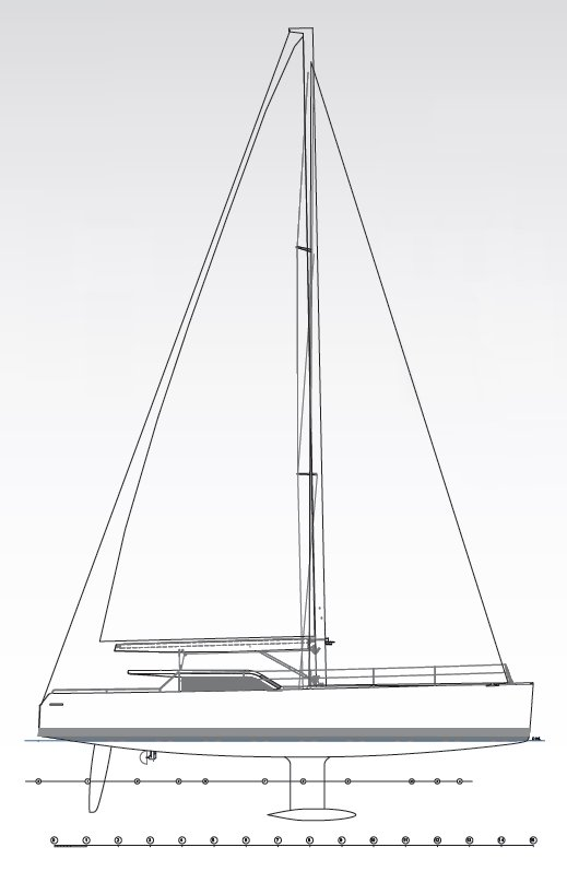 Vismara V52DS Sail Plan