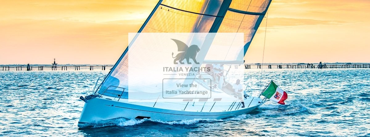 View the Italia Yachts range at Grabau International