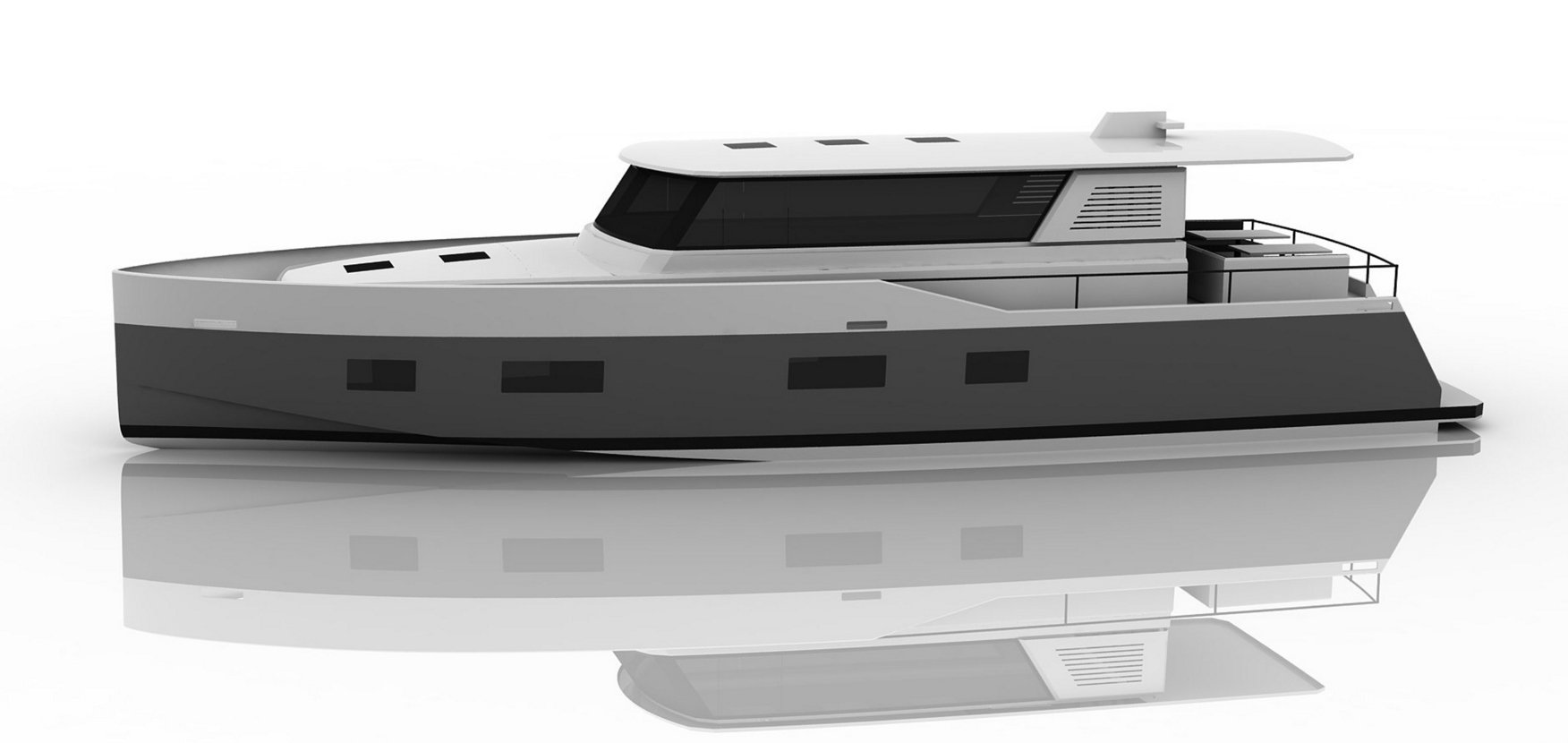 Vismara MY54 side profile rendering