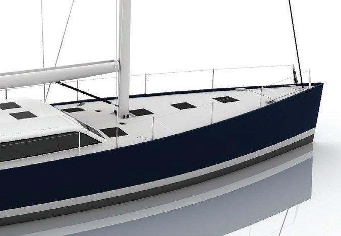 Vismara V52DS Bianco Avorio white deck finish