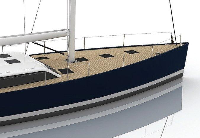 Vismara V52DS 10mm burma teak deck finish