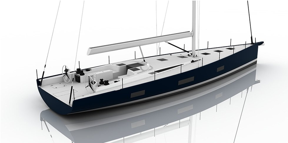 Vismara V62 Mills Bianco Avorio white deck finish